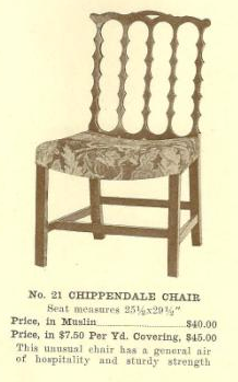 B13114 Chippendale Chair ~ No Upholstery