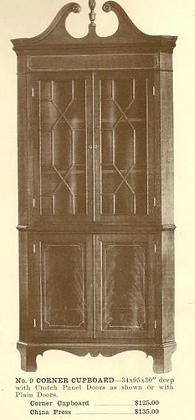 GFS- A13013 Corner Cupboard