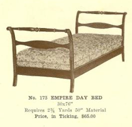 B13167 Empire Day Bed (Lady Astor)