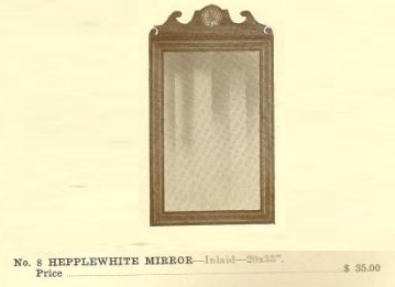 GFS- C13002 Hepplewhite Mirror