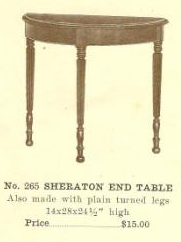 GFS- C13087 Sheraton End Table
