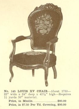 GFS- B13059 Louis XV Chair ~ No Upholstery