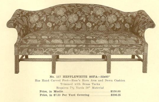 GFS- A13186 Hepplewhite Sofa