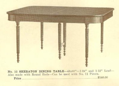 GFS- A13040 Sheraton Dining Table