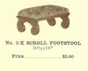 C13072 Scroll Footstool