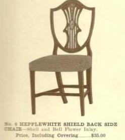 GFS- B13006 Hepplewhite Shield Back Side Chair