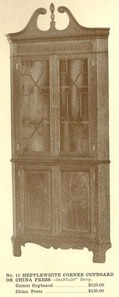 GFS- A13024 Hepplewhite Corner Cupboard
