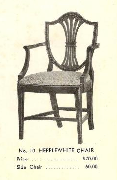 B13202 Hepplewhite Arm Chair