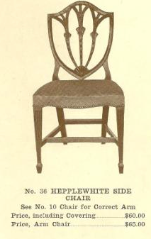 GFS- B13123 Hepplewhite Side Chair