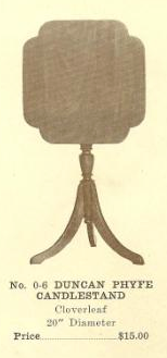 GFS- C13084 Duncan Phyfe Candlestand
