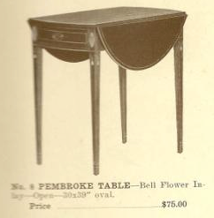 GFS- B13004 Pembroke Table