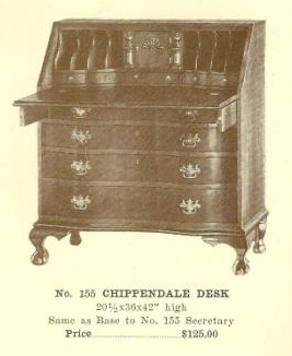 GFS- A13098 Chippendale Desk