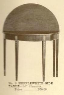B13010 Hepplewhite Side Table
