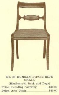 GFS- B13122 Duncan Phyfe Side Chair w/Arms
