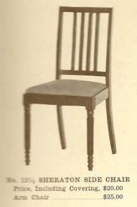 GFS- B13042 Sheraton Side Chair w/Arms