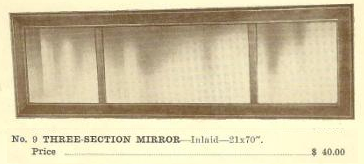 GFS- C13008 Three-Section Mirror