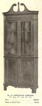 A13200 Hepplewhite Cupboard