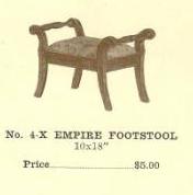 C13076 Empire Footstool