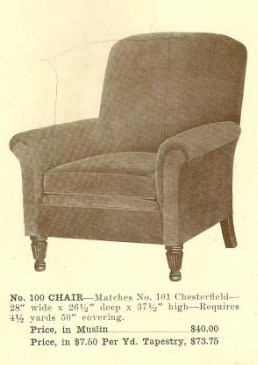 GFS- B13054 Chair ~ No Upholstery