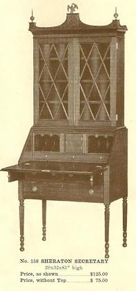 A13106 Sheraton Desk