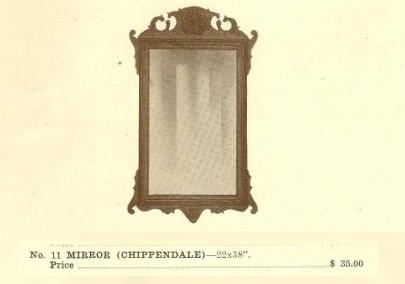 GFS- C13028 Mirror (Chippendale)