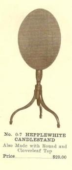 GFS- C13117 Hepplewhite Candlestand