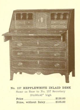 GFS- A13101 Hepplewhite Inlaid Desk