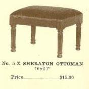 GFS- C13075 Sheraton Ottoman