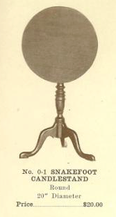 C13079 Snakefoot Candlestand