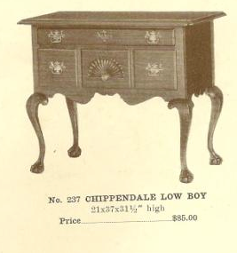 A13112 Chippendale Low Boy