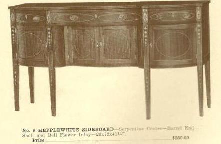 GFS-A13001 Hepplewhite Sideboard