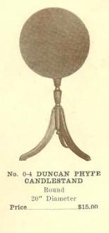 GFS- C13082 Duncan Phyfe Candlestand
