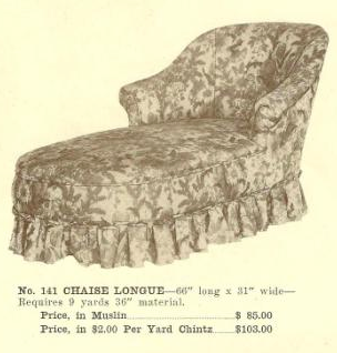 B13056 Chaise Lounge ~ No Upholstery