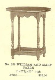 GFS- C13086 William and Mary Table