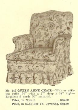 B13055 Queen Anne Chair ~ No Upholstery