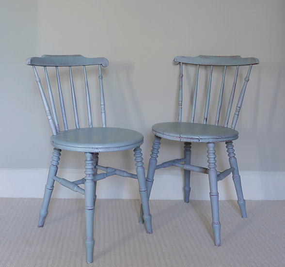 Duck Egg Country Chairs
