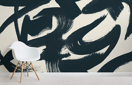 blue-japanese-calligraphy-painted-wallpa