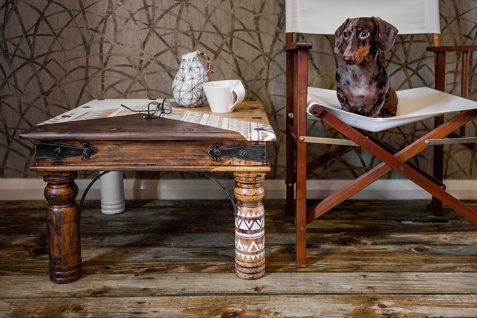 Upcycled furniture in Cumbria by Patience & Gough