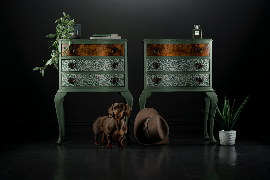 William Morris side tables, Liberty Lond