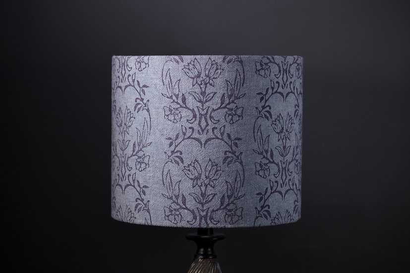 Blue Tapet Printed Lampshade
