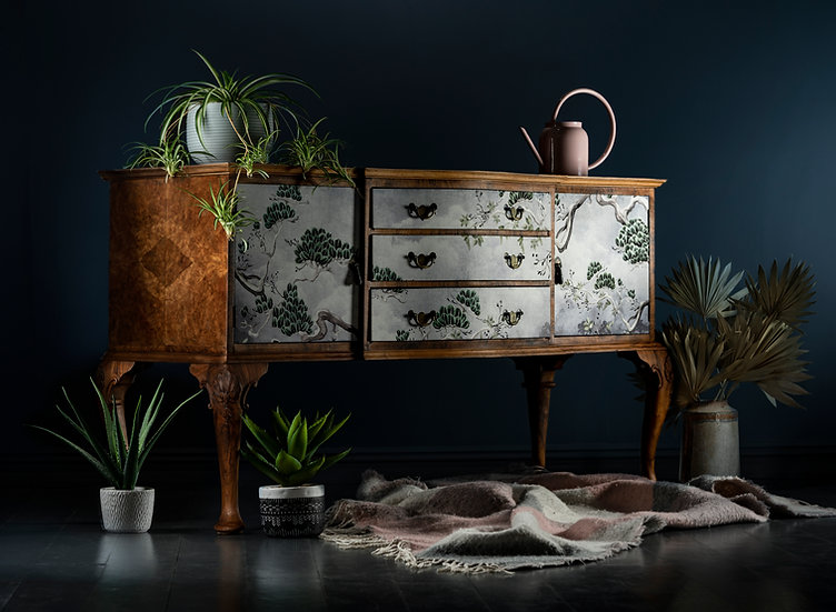 Walnut Orient Sideboard