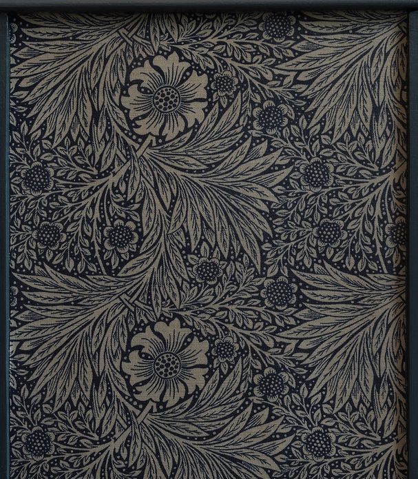 William Morris fabric used on desinger upcycled furniture