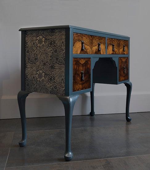 The Morris Walnut Dressing Table