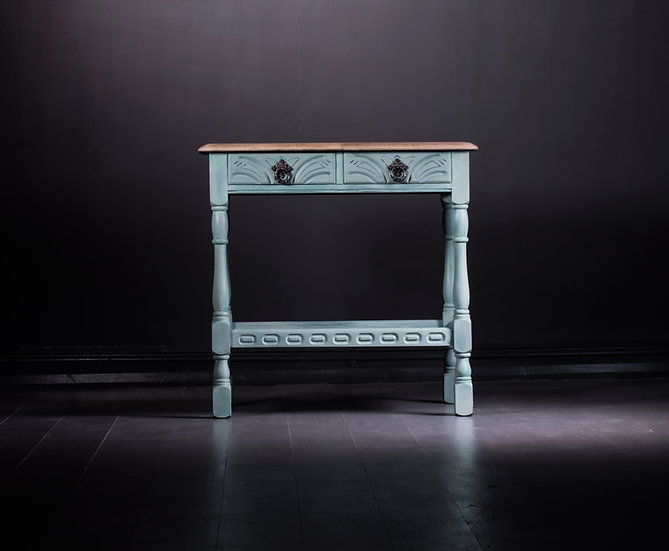 Duck Egg Console Table