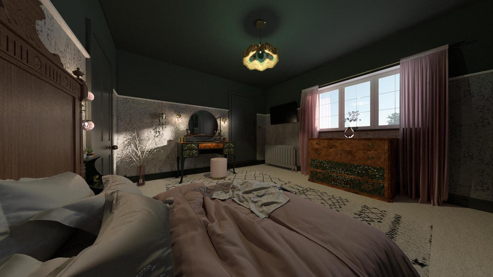 P+G - Bedroom - Amended - Corner room -