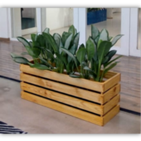 Wooden Pallet Box - No Base