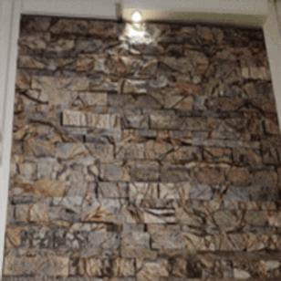 Stone Wall Cladding - Royal Brown Split Stacking