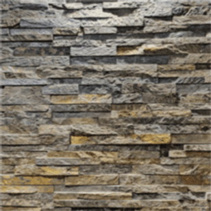 Stone Wall Cladding - Ocean Green Stacking