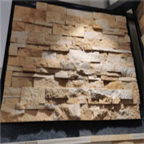 Stone Wall Cladding - English Willow Split Stacking