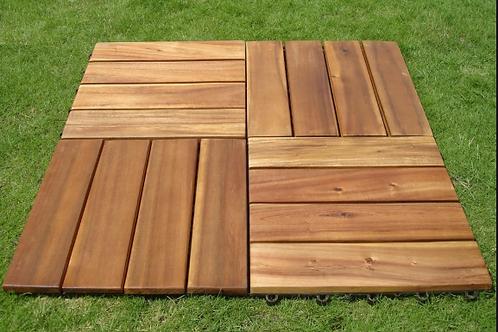 Wooden Deck Tiles IPE Wood